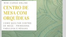 Centro de mesa - Orquídea + Régua
